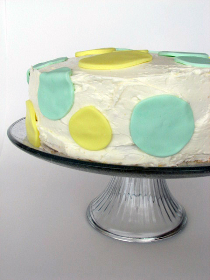 The Perfect Party Cake, Lemon Lime Version {Daring Bakers and My Blog Birthday!}