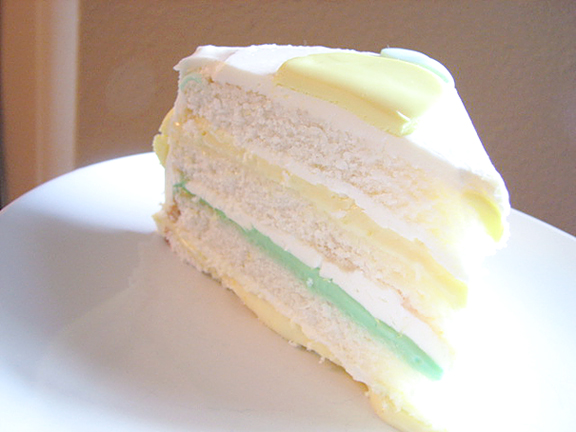 The Perfect Party Cake, Lemon-Lime Version by www.tasteandtellblog.com