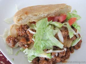 Ground Beef Gorditas