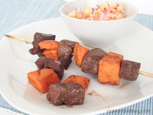 Jamaican Style Beef Kabobs