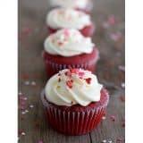 Red Velvet Cupcakes | www.tasteandtellblog.com #recipe #redvelvet #cupcake