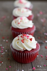 Red Velvet Cupcakes on Taste and Tell