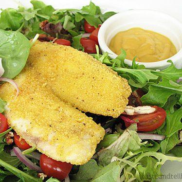 Southern Fried Tilapia Salad