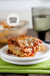 American Lasagna from www.tasteandtellblog.com