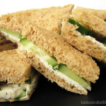 Cookbook of the Month Recipe – Herbed Goat Cheese Sandwiches