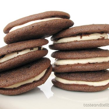 Peanut Butter Whoopie Pies | Taste and Tell