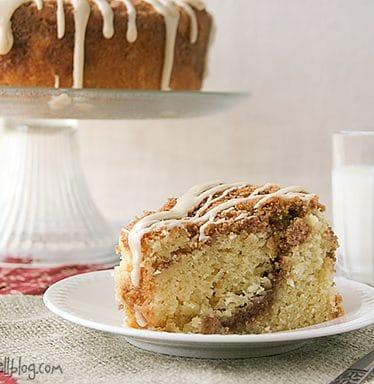 Sour Cream Coffee Cake | www.tasteandtellblog.com