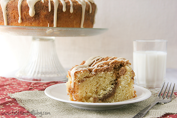 Cookbook of the Month Recipe – Sour Cream Coffee Cake