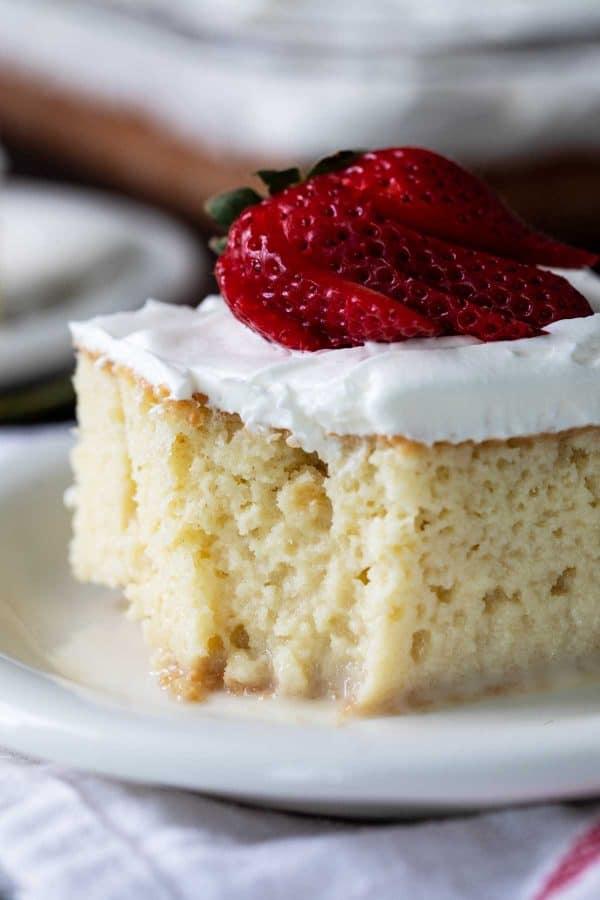 Tres Leches Cake - Milk Cake