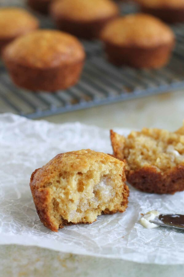 Texture of Brown Sugar Muffins