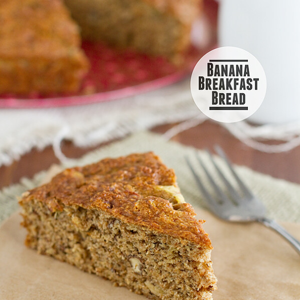 Banana Breakfast Bread from www.tasteandtellblog.com