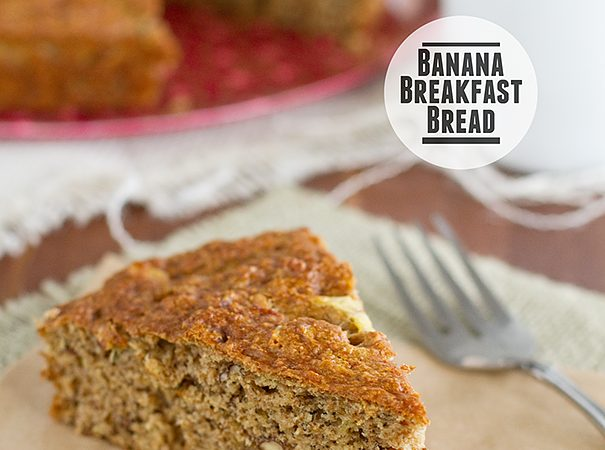 Banana Breakfast Bread from www.tasteandtellblog.com