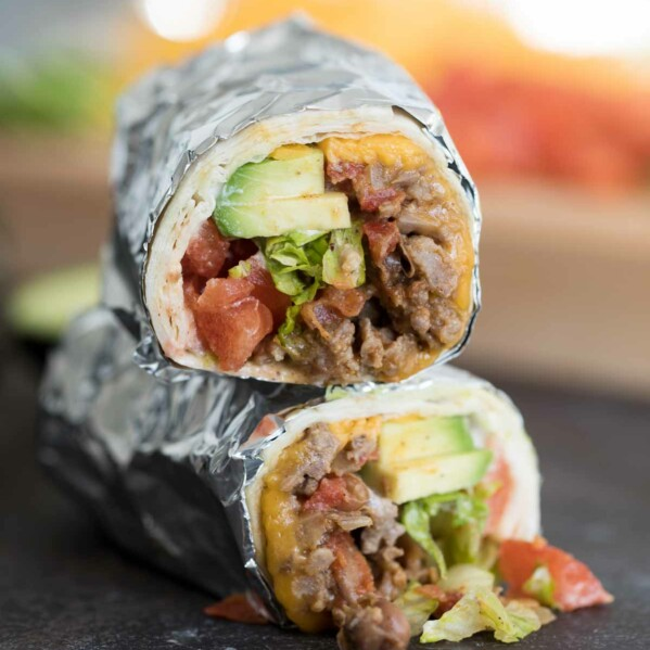 How to make Bean, Sausage and Beef Burrito Recipe
