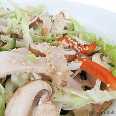 Szechuan Chicken Salad on Taste and Tell