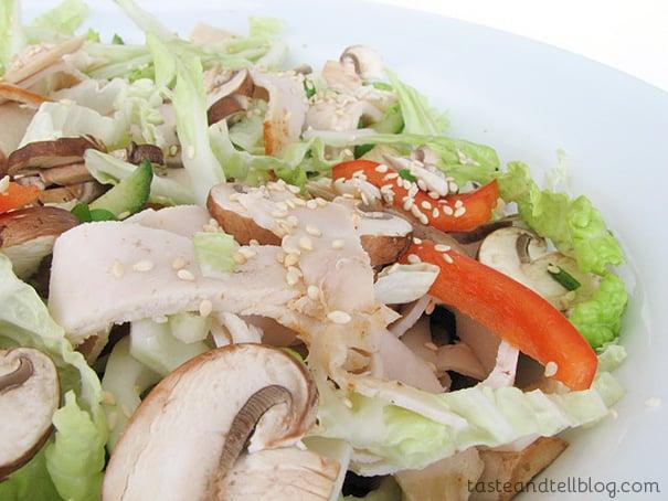 Szechuan Chicken Salad - Taste and Tell