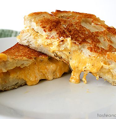 Toasted Cheese Sandwiches | www.tasteandtellblog.com