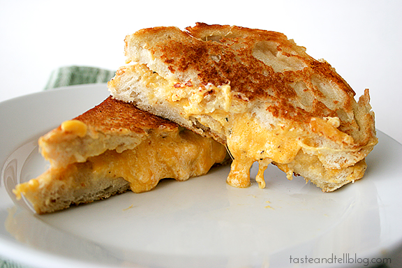 Cookbook of the Month Recipe – Toasted Cheese Sandwiches
