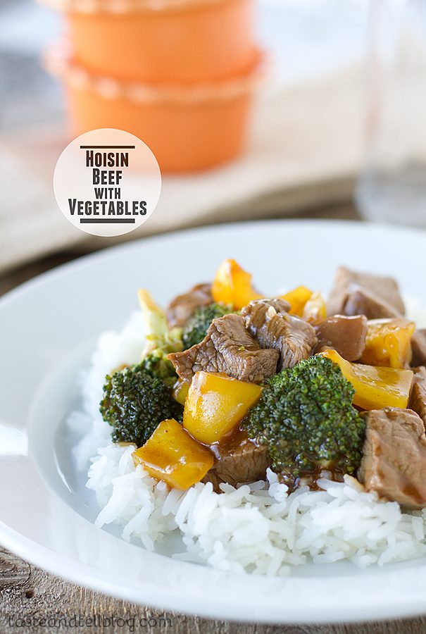 Hoisin Beef with Vegetables on Taste and Tell