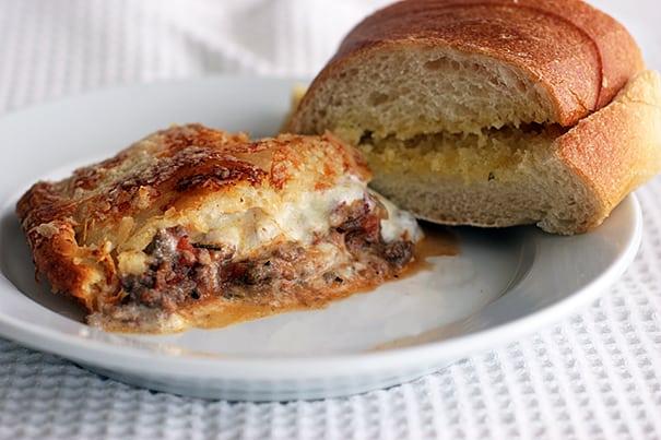 Zesty Italian Casserole | www.tasteandtellblog.com