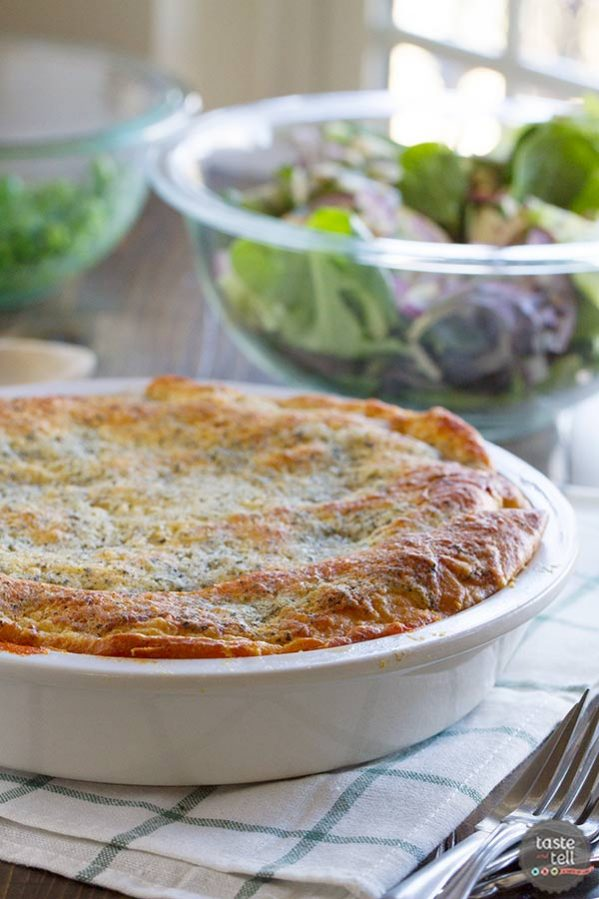 Ground beef is combined with pasta sauce, then topped with lots of cheese and a crescent roll crust in this Zesty Italian Crescent Casserole that the whole family will love.