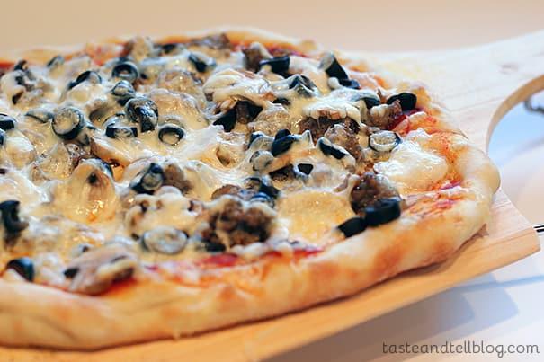 Basic Pizza Dough from www.tasteandtellblog.com