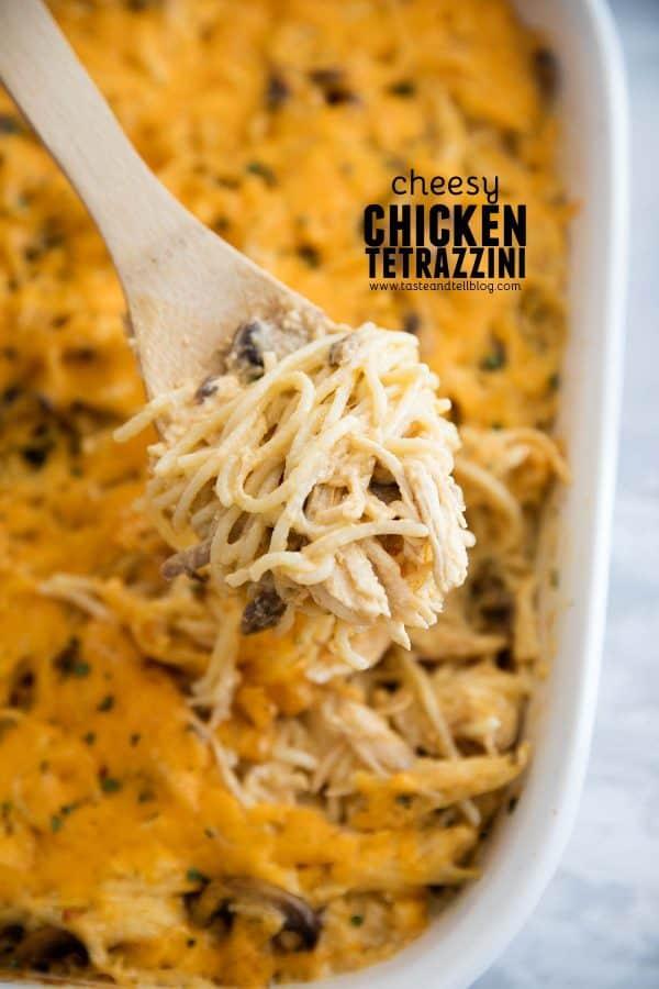 How to make Cheesy Chicken Tetrazzini