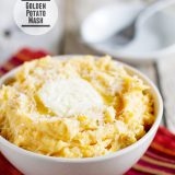 Golden Potato Mash from www.tasteandtellblog.com