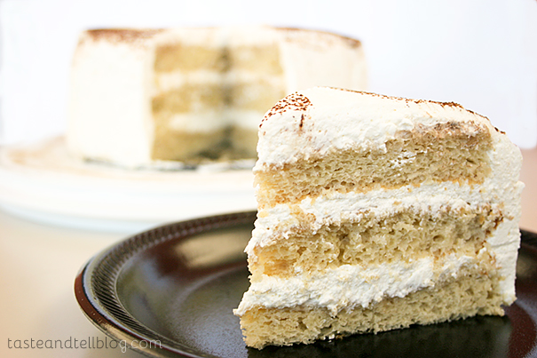 Hot Cocoa Chiffon Cake from www.tasteandtellblog.com