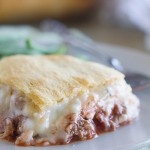 Mock Lasagna - the perfect comfort food, this is a recipe I have been eating since I was a kid!