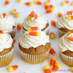 Quick and Easy Pumpkin Cupcakes | www.tasteandtellblog.com
