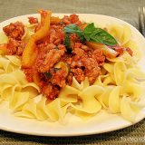American Turkey Goulash on www.tasteandtellblog.com