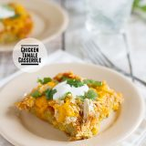 Chicken Tamale Casserole on Taste and Tell