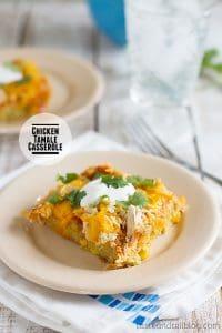 Chicken Tamale Casserole on Taste and Tell