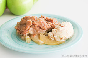 Apple Crisp on www.tasteandtellblog.com