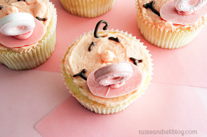 Baby Shower Cupcakes on www.tasteandtellblog.com