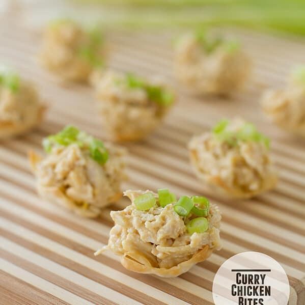 Chicken Curry Bites | Taste and Tell