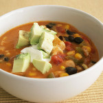 Chicken and Cheese Enchilada Chowder | www.tasteandtellblog.com