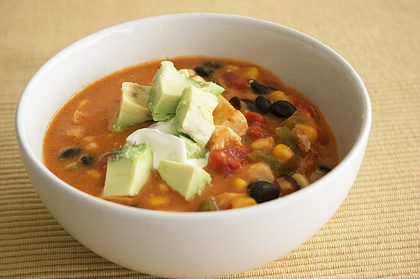 Chicken and Cheese Enchilada Chowder