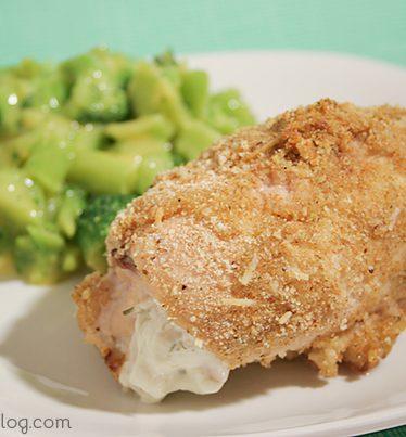 Garlic Cheese Chicken Rollups   www.tasteandtellblog.com