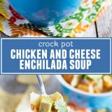 Chicken and Enchilada Soup with Text