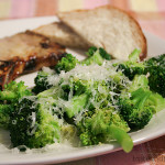 Honey Mustard Pork Chops with Lemon Butter Broccoli | www.tasteandtellblog.com