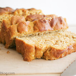 Pumpkin Apple Bread | www.tasteandtellblog.com