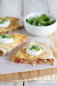 Chipotle Beef Quesadilla Recipe