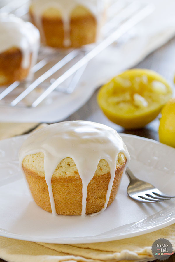 Glazed Lemon Cakes Recipe