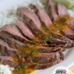 Chipotle-Herb Flank Steak on Taste and Tell