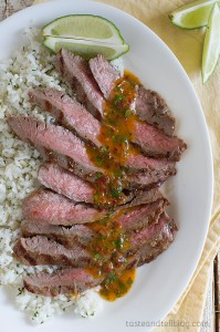 Chipotle Herb Flank Steak