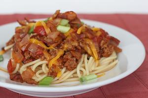 Cowboy Spaghetti | www.tasteandtellblog.com