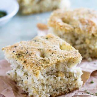 Easy Focaccia Bread Recipe - an easy side dish recipe