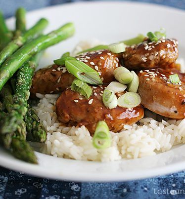 Easy Pork with Hoisin Sauce on Taste and Tell