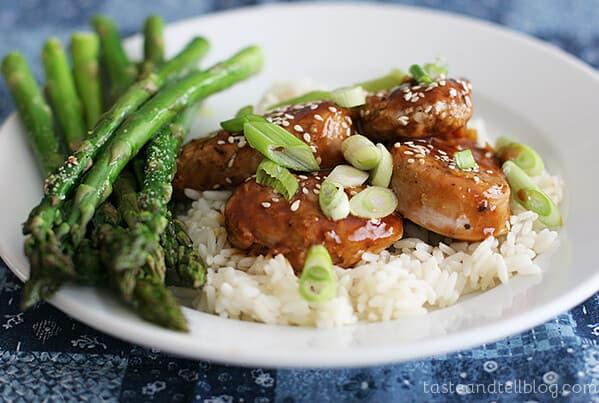 Easy Pork with Hoisin Sauce on Taste and Tell